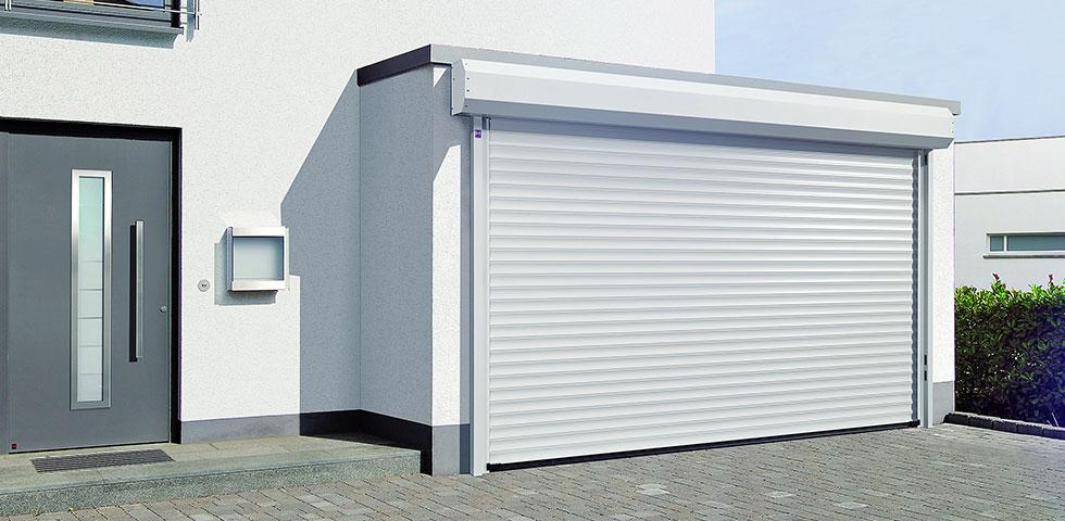 Serrande avvolgibili con cassonetto esterno - Portoni garage con finestre ...